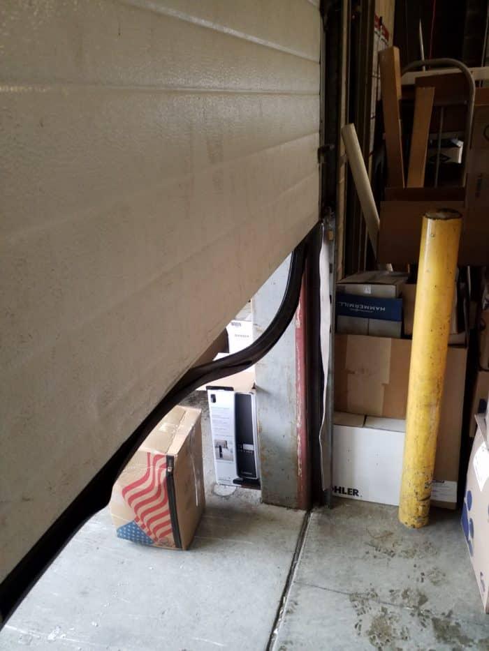 Garage Door Weather Seal Replacement